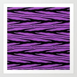 A New Wild - Purple Art Print