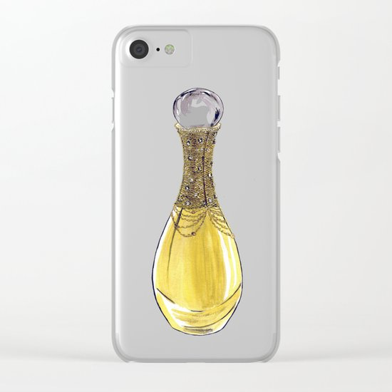J'adore L'or Clear iPhone Case
