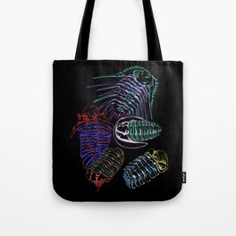Silurian and Devonian Era Trilobites 2 Tote Bag