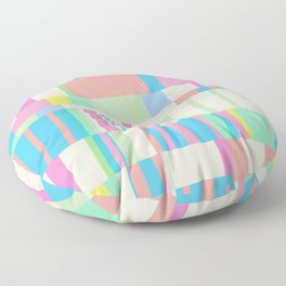 Chopin Prelude (Miami Beach Colours) Floor Pillow