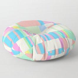 Chopin Prelude (Miami Beach Colours) Floor Pillow