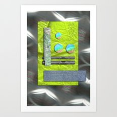 NEW AGE COMPOSITION 1 Art Print