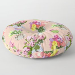 Vases Floor Pillow