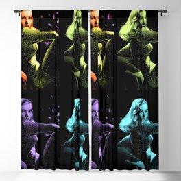 Veronica Lake Pop-art Art Print by Jéanpaul Ferro Blackout Curtain