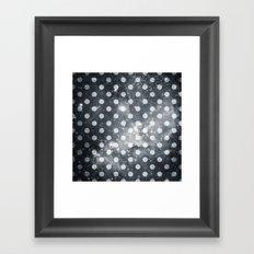 Polka Universe Framed Art Print