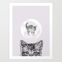 What's on Your Mind Art Print