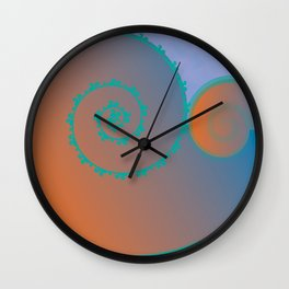 Koral Koru Wall Clock