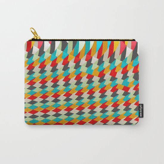 triangle color 4 Carry-All Pouch