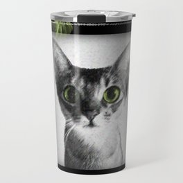 Lady Cat Travel Mug
