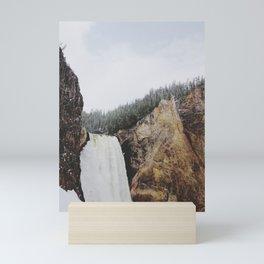 Lower Yellowstone Falls Mini Art Print