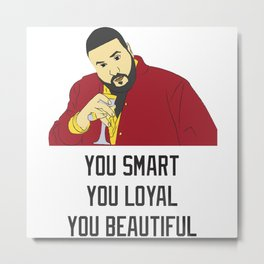 Dj Khaled Metal Print