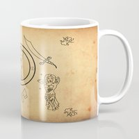 tatoo Mugs featuring • old tatoo comix • by Jprojectlab