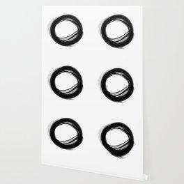 Minimal Circle black and white Wallpaper