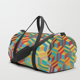 Lonely Cubes In Room Duffle Bag