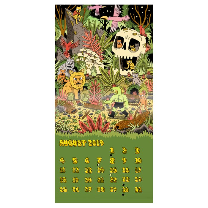 Society6 Artist 2019 Edition Calendar
