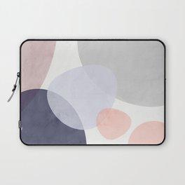 Pastel Shapes III Laptop Sleeve