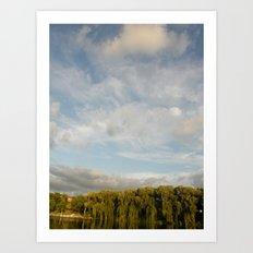 Open Heaven  Art Print