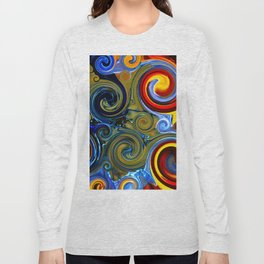 Ribbons in the spokes Long Sleeve T-shirt