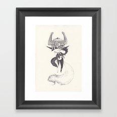 midona Framed Art Print