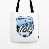 fire emblem Tote Bags featuring Emblem by Sydney Rangers FC