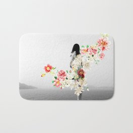 Poppy and Memory III Bath Mat