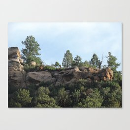 Colorado Bluffs Canvas Print