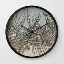 The Ice Fishers and Their Secret Wall Clock