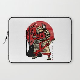 Samurai Santa Laptop Sleeve