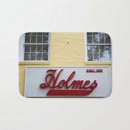 Holmes Store Sign Bath Mat