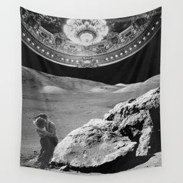 Lovers on the Moon part 2 Wall Tapestry