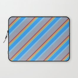 Summer Inclined Stripes Laptop Sleeve