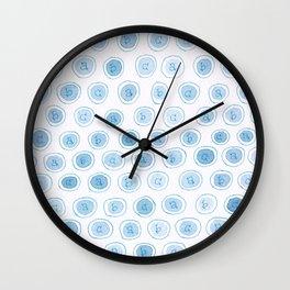 #33. ALEXANDRA - abc Wall Clock
