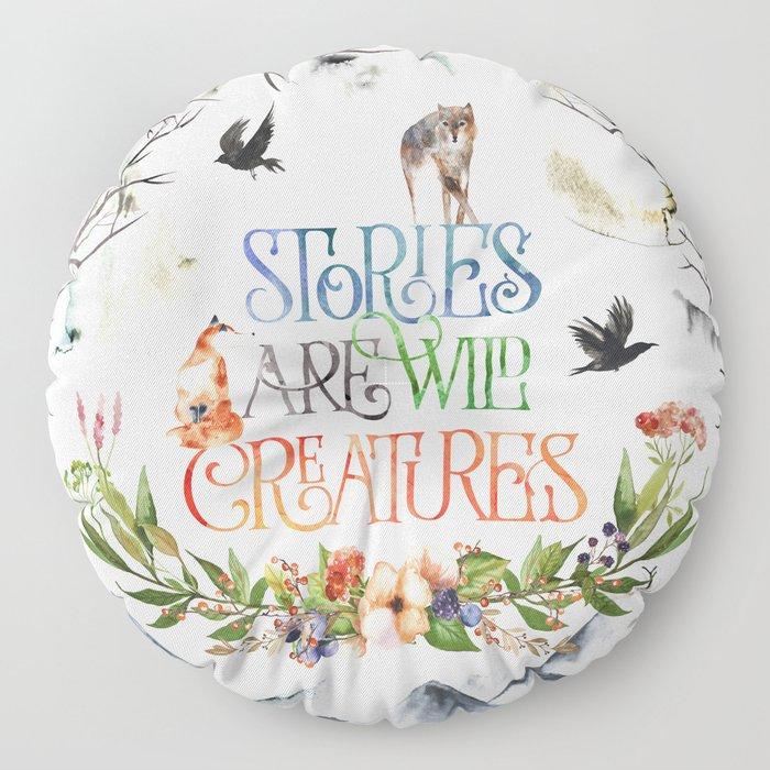 Stories Floor Pillow