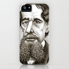 Dickens iPhone Case