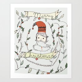 its beginning to look a lot like.. Art Print