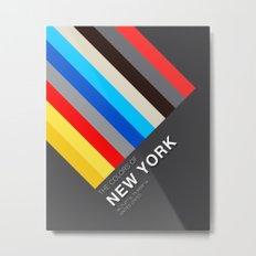 Colors of New York Metal Print