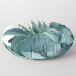 Agave geometrics Floor Pillow
