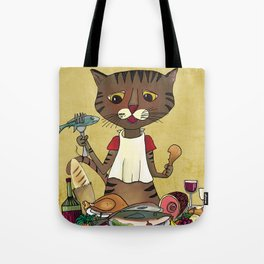 'Owen's Second Breakfast' Tote Bag