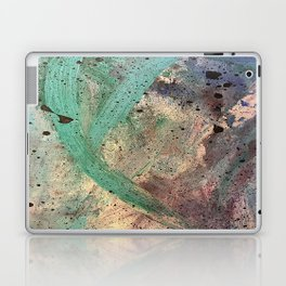Sea Side Splatter Laptop & iPad Skin