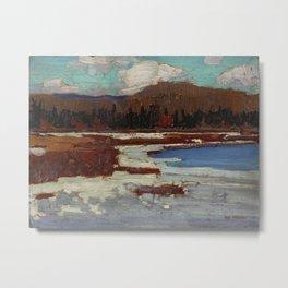 Tom Thomson The Marsh, Early Spring 1916 Canadian Landscape Artist Metal Print