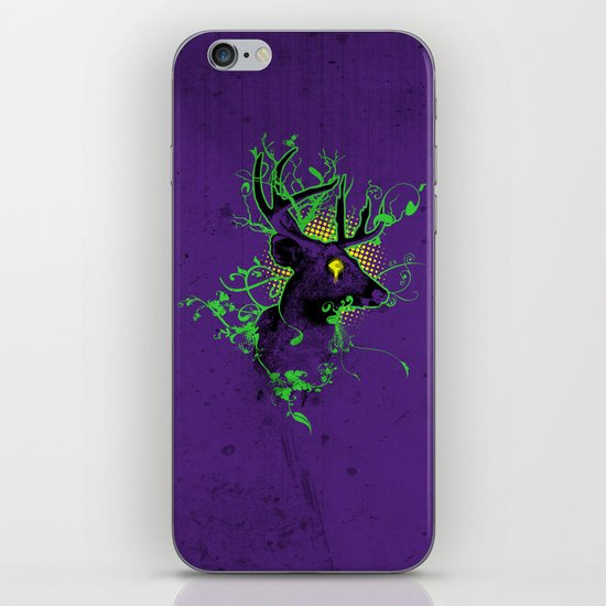 Trippy Ghost Deer iPhone & iPod Skin