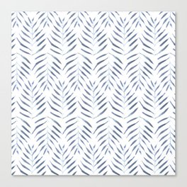 Palm Trees in blue Canvas Print