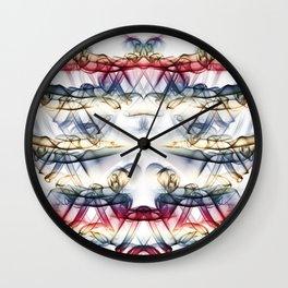Smoke Art 61 Wall Clock
