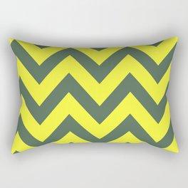 SIC 'EM CHEVRON Rectangular Pillow