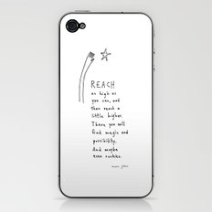 reach as high as you can iPhone & iPod Skin