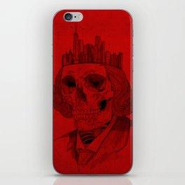 untouchable city iPhone Skin