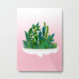 Planter Metal Print