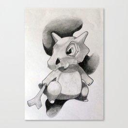 Pokémon Cubone Print  Canvas Print