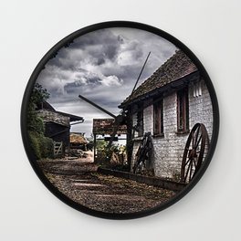 Old Farm Wall Clock