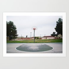 Basketball Sanctuary Art Print
